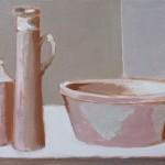 Liliane Camier - Série Intimité des objets – 2016 – 30 cm x 60 cm – acrylique et huile sur toile