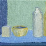 Liliane Camier - Série Intimité des objets – 2016 – 12 cm x 18 cm – acrylique et huile sur toile