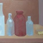 Liliane Camier - Série Intimité des objets – 2016 – 38 cm x 46 cm – acrylique et huile sur toile