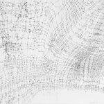 Liliane Camier - DessinTissé D 09 - 1977 - 45 cm x 57 cm - encre de chine sur Canson 180gr