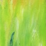 Liliane Camier - Champs colorés II – 2014 - 60 cm x 20 cm – acrylique et huile sur toile