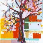 Liliane Camier - L'altérité – D'une nature, l'autre - 2012 – acrylique et huile sur toile – 130 cm x 97 cm