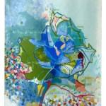 Liliane Camier - Contes et chansons – 2013 – acrylique sur toile libre lin ou coton – 199 cm x 97 cm