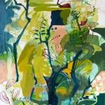 Liliane Camier - Éléments d'un paysage de Dordogne – 2010 – 162 x 130 cm – huile sur toile
