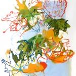 Liliane Camier - série « Le dedans du dehors » Juste avant l'hiver – 2010 – 130 cm x 97 cm – huile sur toile