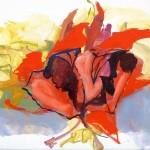 Liliale Camier - Espace / Temps I – 2010 – 27 cm x 35 cm – huile sur toile