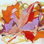 Liliane Camier - Espace / Temps Il – 2010 – 27 cm x 35 cm – huile sur toile