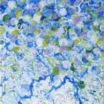 Liliane Camier - Le penses-tu ? – acrylique sur toile – 50 cm x 100 cm - 2009