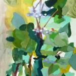Liliane Camier - L'Arbre – 100 cm X 50 cm - huile sur toile – 2008
